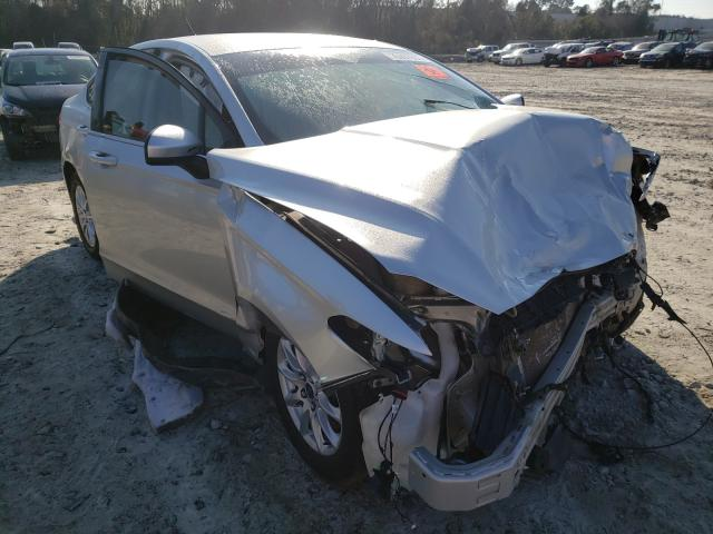 Salvage cars for sale from Copart Tifton, GA: 2017 Ford Fusion S