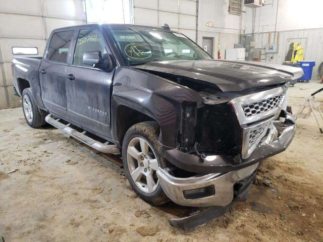 Salvage cars for sale from Copart Columbia, MO: 2015 Chevrolet Silverado