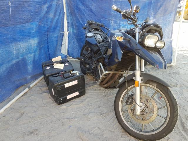 BMW salvage cars for sale: 2012 BMW F650 GS