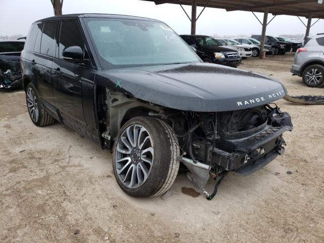 Salvage cars for sale from Copart Temple, TX: 2018 Land Rover Range Rover