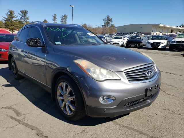 Salvage cars for sale from Copart Exeter, RI: 2012 Infiniti EX35 Base