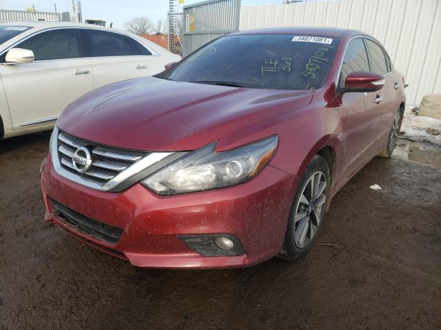 2017 NISSAN ALTIMA 2.5 - Left Front View
