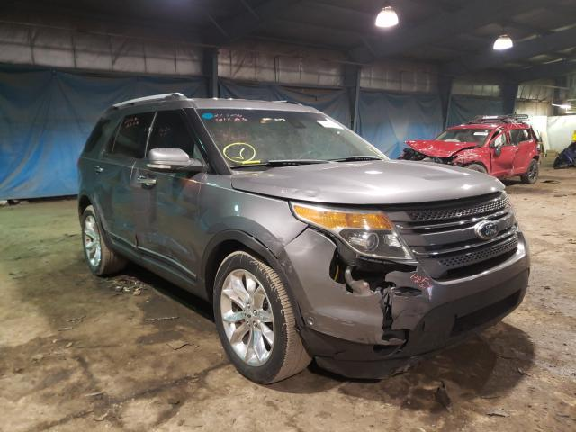 Salvage cars for sale from Copart Hammond, IN: 2013 Ford Explorer L