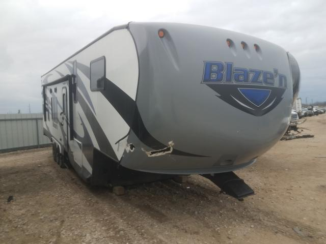 Salvage cars for sale from Copart Temple, TX: 2017 Pacific Blazen