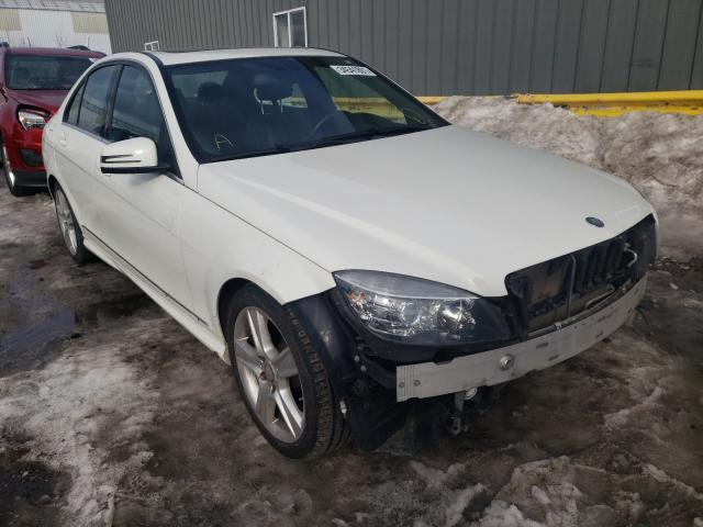 Salvage cars for sale from Copart Cudahy, WI: 2011 Mercedes-Benz C 300 4matic