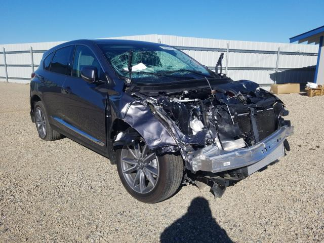 Salvage cars for sale from Copart Anderson, CA: 2020 Acura RDX Techno