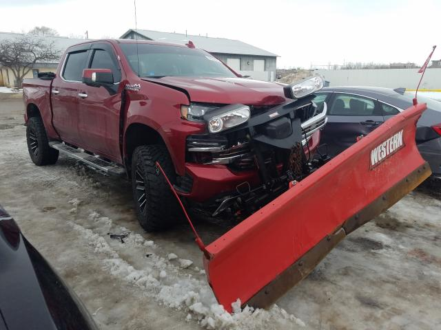 Salvage cars for sale from Copart Madison, WI: 2019 Chevrolet Silverado