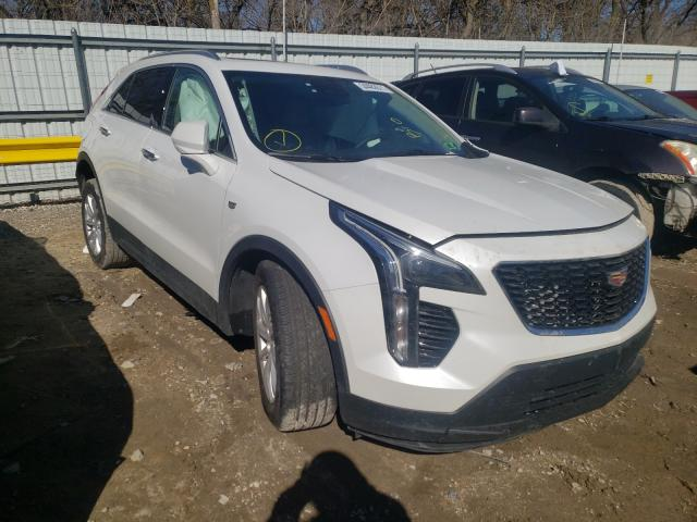 Cadillac XT4 Luxury salvage cars for sale: 2021 Cadillac XT4 Luxury