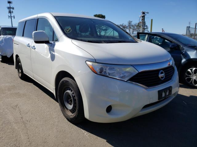 Salvage cars for sale from Copart Brookhaven, NY: 2012 Nissan Quest S