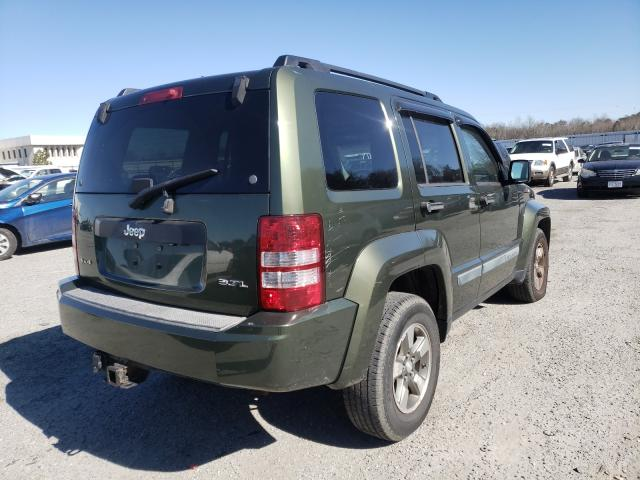 2008 JEEP LIBERTY - Right Rear View
