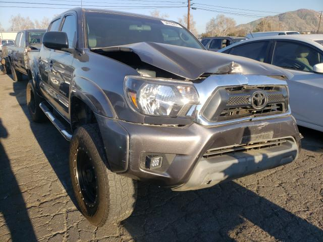 Salvage cars for sale from Copart Colton, CA: 2014 Toyota Tacoma DOU