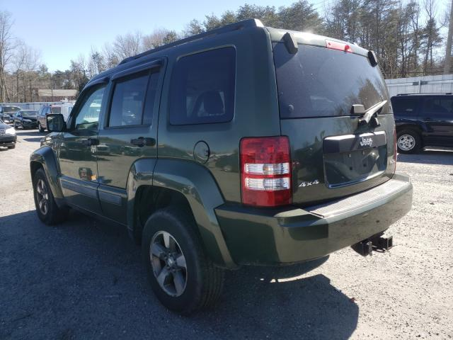 2008 JEEP LIBERTY - Right Front View