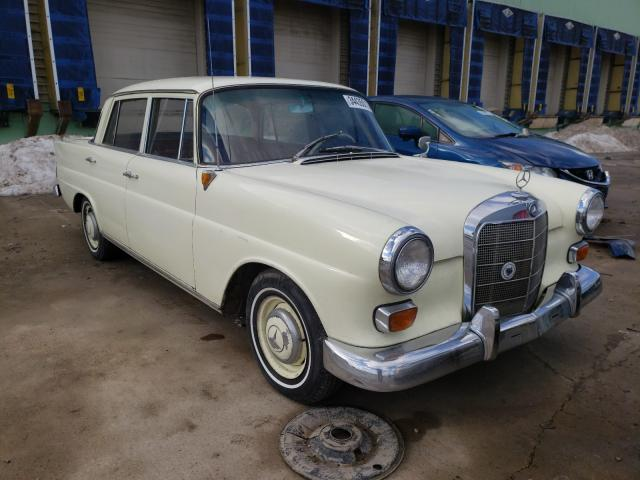 Salvage cars for sale from Copart Columbus, OH: 1963 Mercedes-Benz 190D