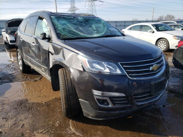 Salvage cars for sale from Copart Elgin, IL: 2016 Chevrolet Traverse L