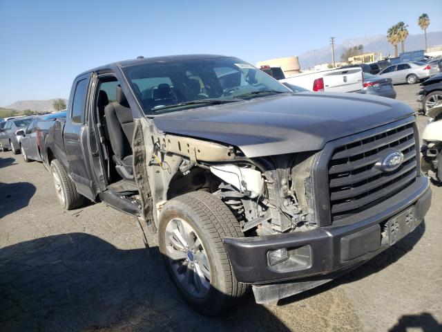 Salvage cars for sale from Copart Colton, CA: 2017 Ford F150 Super