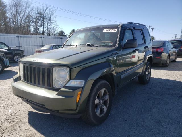 2008 JEEP LIBERTY - Left Front View