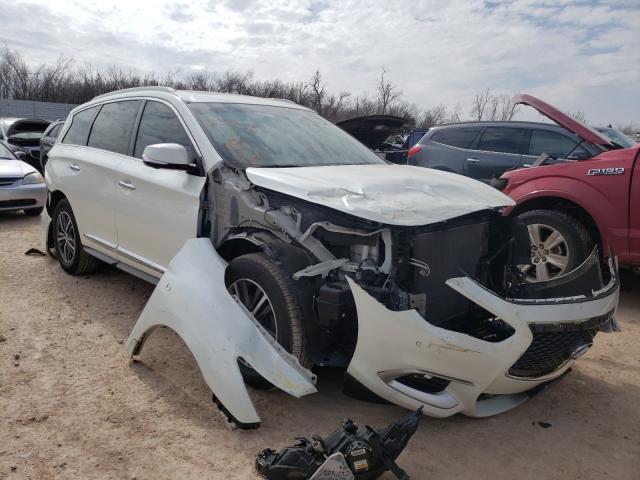 Infiniti salvage cars for sale: 2016 Infiniti QX60