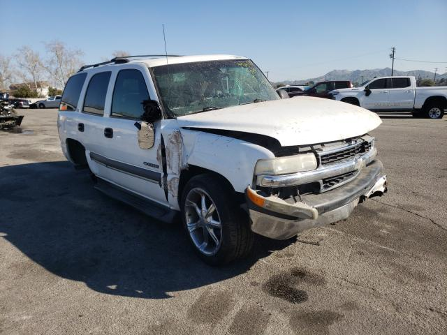 Salvage cars for sale from Copart Colton, CA: 2002 Chevrolet Tahoe C150