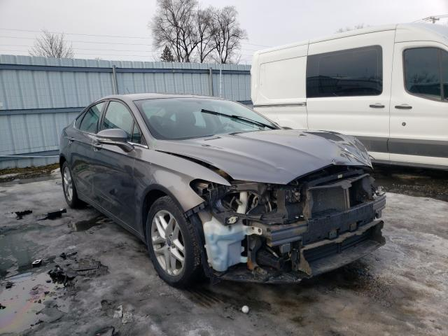 Salvage cars for sale from Copart Albany, NY: 2014 Ford Fusion SE