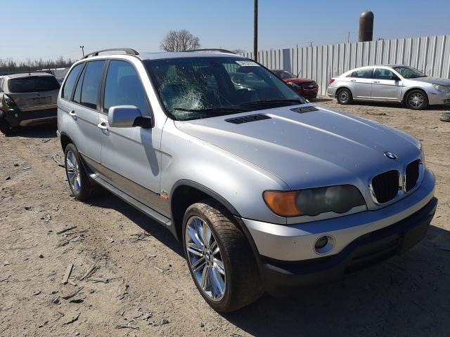 Salvage cars for sale from Copart Montgomery, AL: 2003 BMW X5 3.0I
