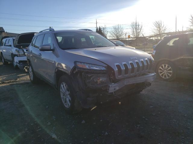 Salvage cars for sale from Copart Eugene, OR: 2017 Jeep Cherokee L