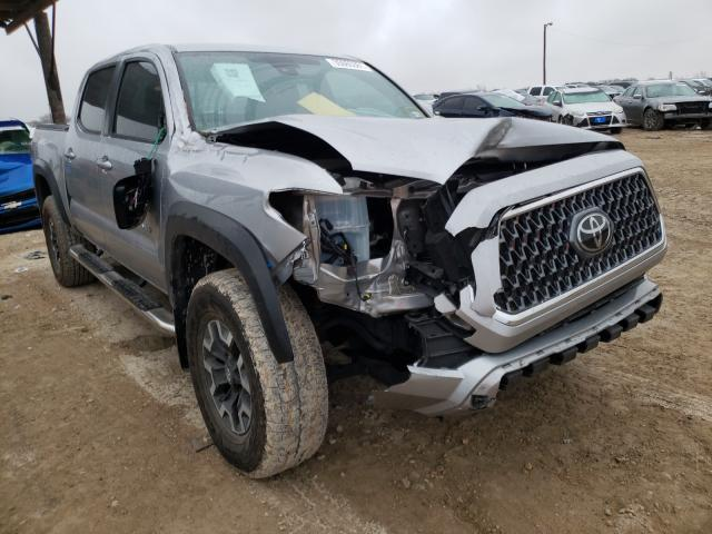 Salvage cars for sale from Copart Temple, TX: 2019 Toyota Tacoma DOU