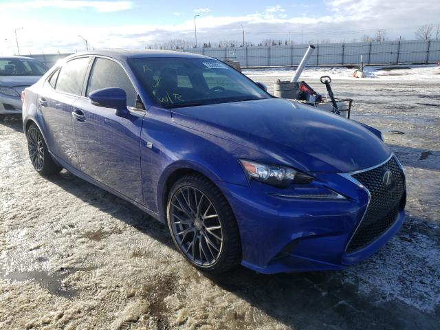 Salvage cars for sale from Copart Nisku, AB: 2016 Lexus IS 350