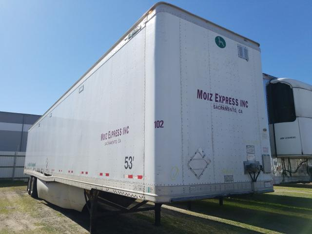 Great Dane Trailer salvage cars for sale: 2007 Great Dane Trailer