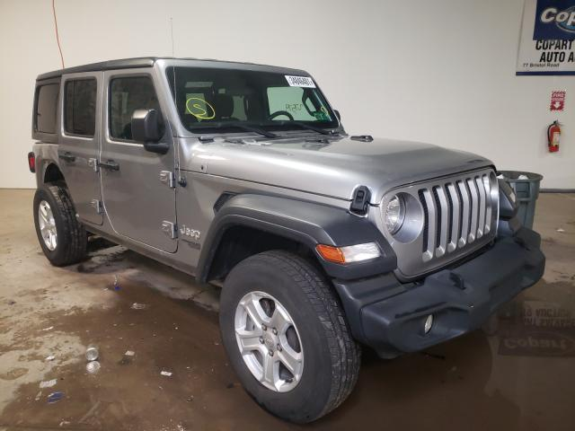 Salvage cars for sale from Copart Chalfont, PA: 2018 Jeep Wrangler U