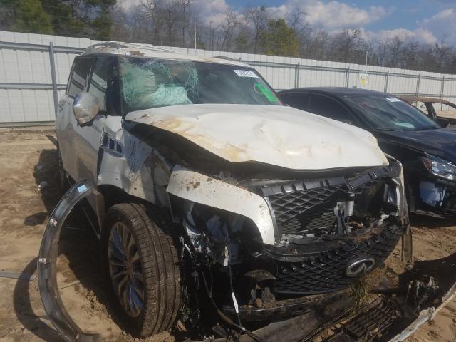 Infiniti salvage cars for sale: 2017 Infiniti QX80 Base