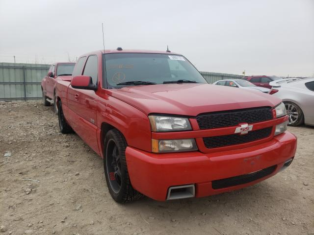 Salvage cars for sale from Copart Kansas City, KS: 2004 Chevrolet Silverado