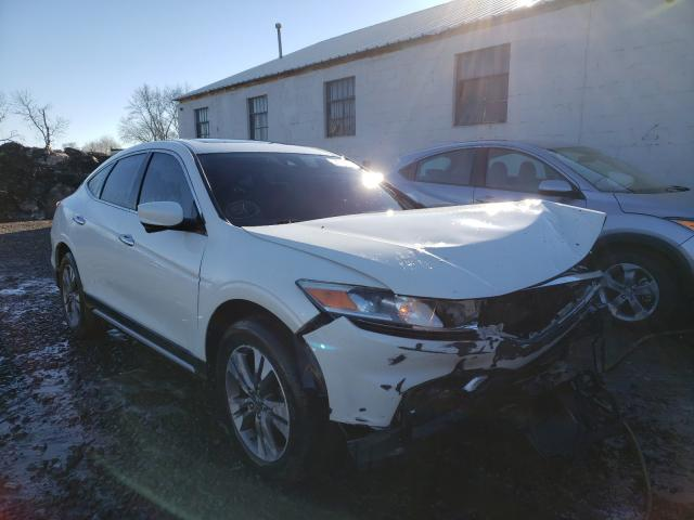 Salvage cars for sale from Copart Hillsborough, NJ: 2013 Honda Crosstour