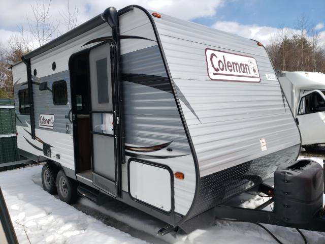 Coleman salvage cars for sale: 2016 Coleman Camper