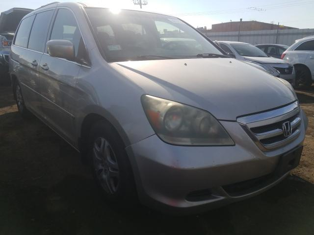 Salvage cars for sale from Copart Chicago Heights, IL: 2005 Honda Odyssey