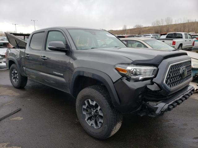Salvage cars for sale from Copart Littleton, CO: 2018 Toyota Tacoma DOU