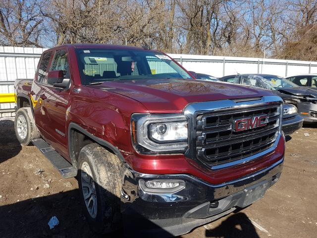 Salvage cars for sale from Copart Glassboro, NJ: 2017 GMC Sierra K15