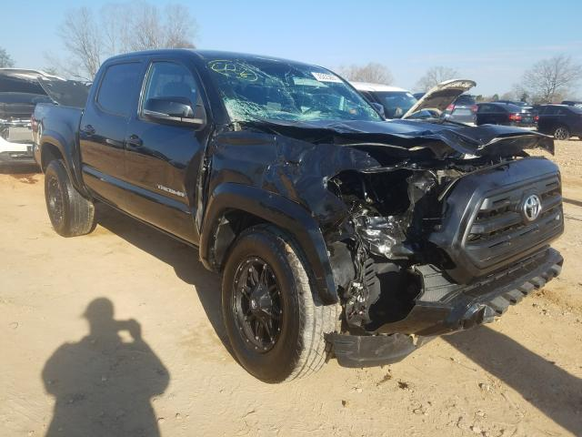 Salvage cars for sale from Copart China Grove, NC: 2016 Toyota Tacoma DOU