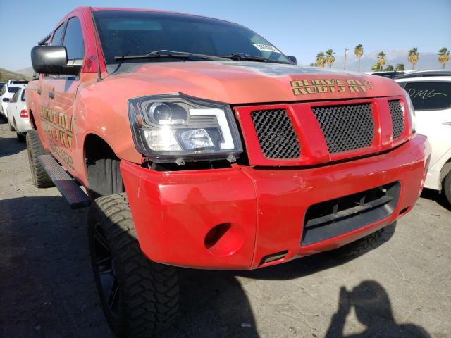 Salvage cars for sale from Copart Colton, CA: 2005 Nissan Titan XE