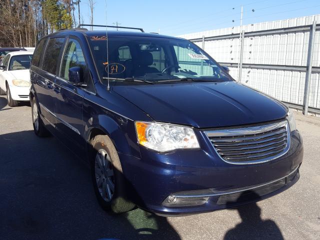Vehiculos salvage en venta de Copart Dunn, NC: 2015 Chrysler Town & Country