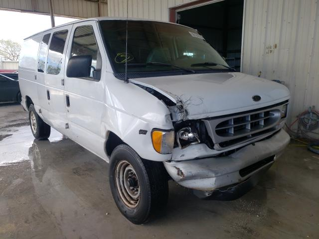 Salvage cars for sale from Copart Homestead, FL: 2001 Ford Econoline