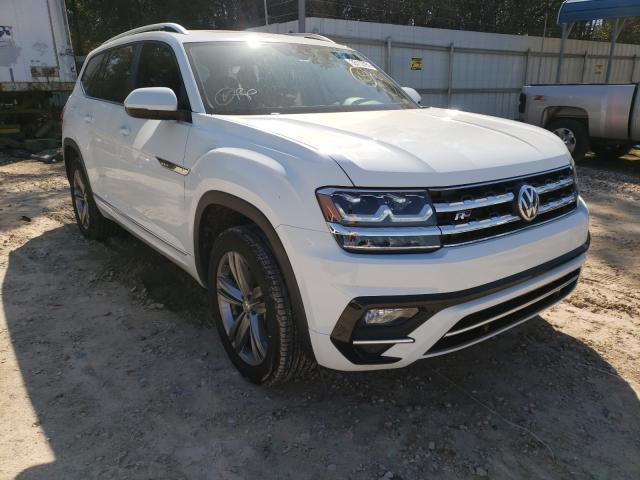 Salvage cars for sale from Copart Midway, FL: 2019 Volkswagen Atlas SEL