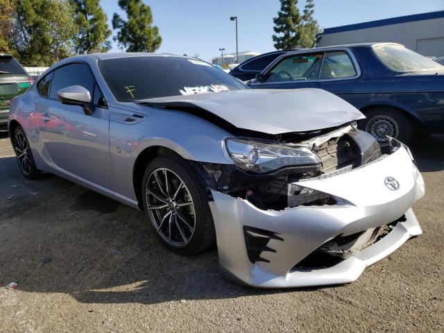 Salvage cars for sale from Copart Rancho Cucamonga, CA: 2018 Toyota 86