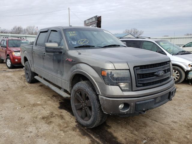 Salvage cars for sale from Copart Wichita, KS: 2013 Ford F150