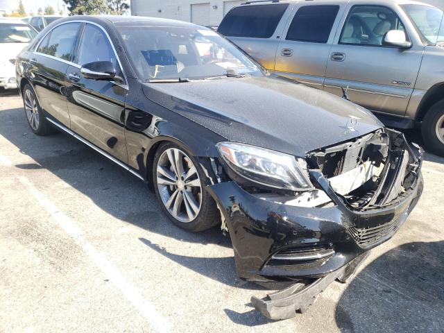 Salvage cars for sale from Copart Rancho Cucamonga, CA: 2016 Mercedes-Benz S 550E