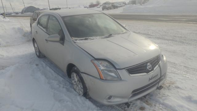 Salvage cars for sale from Copart Montreal Est, QC: 2011 Nissan Sentra 2.0