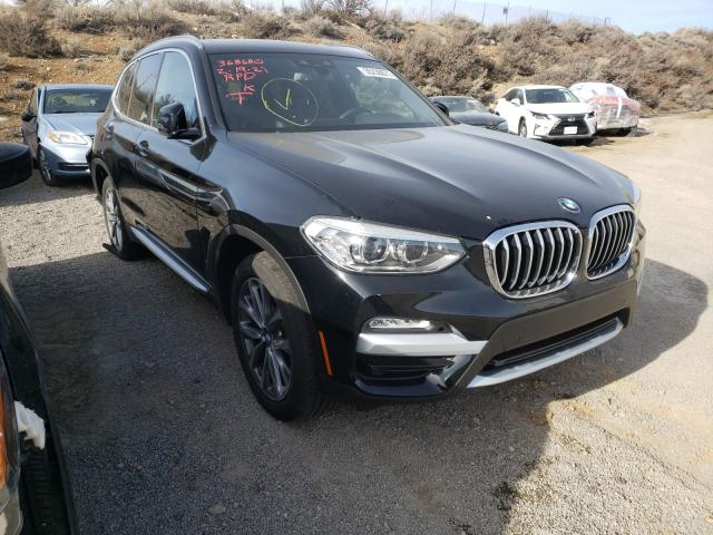 Salvage cars for sale from Copart Reno, NV: 2019 BMW X3 XDRIVE3