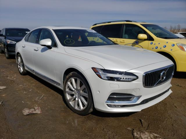 Salvage cars for sale from Copart Bridgeton, MO: 2017 Volvo S90 T6 INS