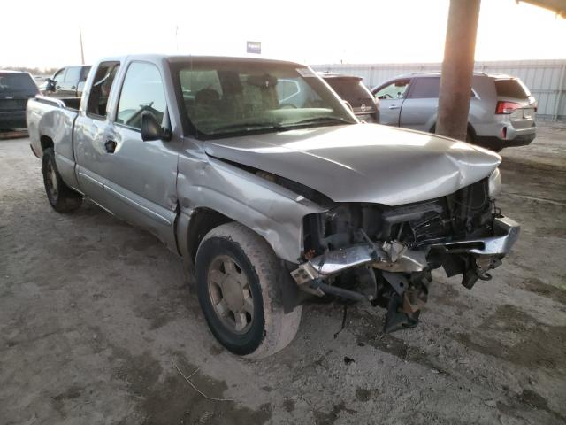 Salvage cars for sale from Copart Temple, TX: 2005 GMC New Sierra
