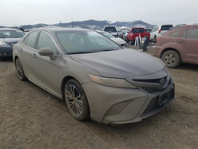 Salvage cars for sale from Copart Helena, MT: 2020 Toyota Camry SE