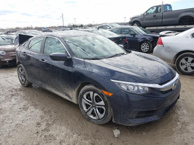 Salvage cars for sale from Copart Indianapolis, IN: 2018 Honda Civic LX